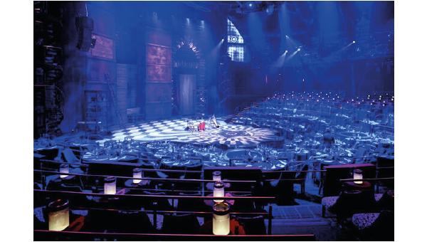 El espectáculo tiene que ser lo principal, por ello, optaron por el escudo invisible de NanoX150 para todas sus sillas